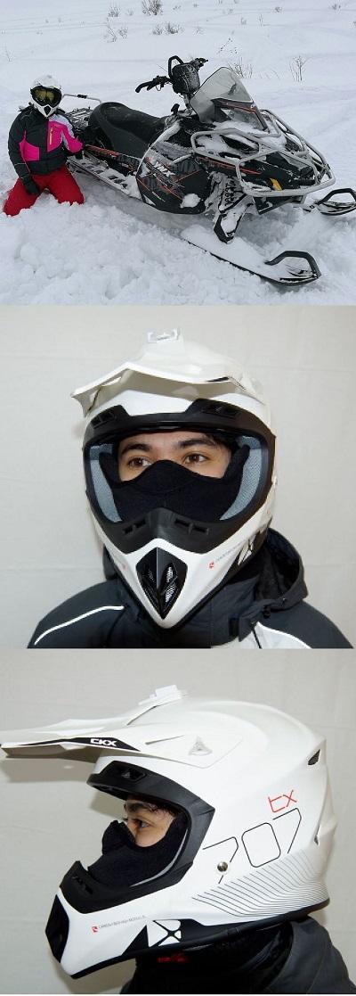 Аквапечать на шлеме для снегохода