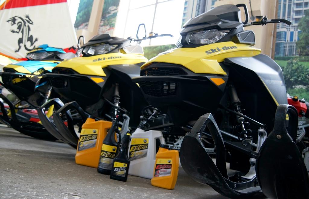 Моторное масло XPS для снегоходов, купить масло для снегоходов