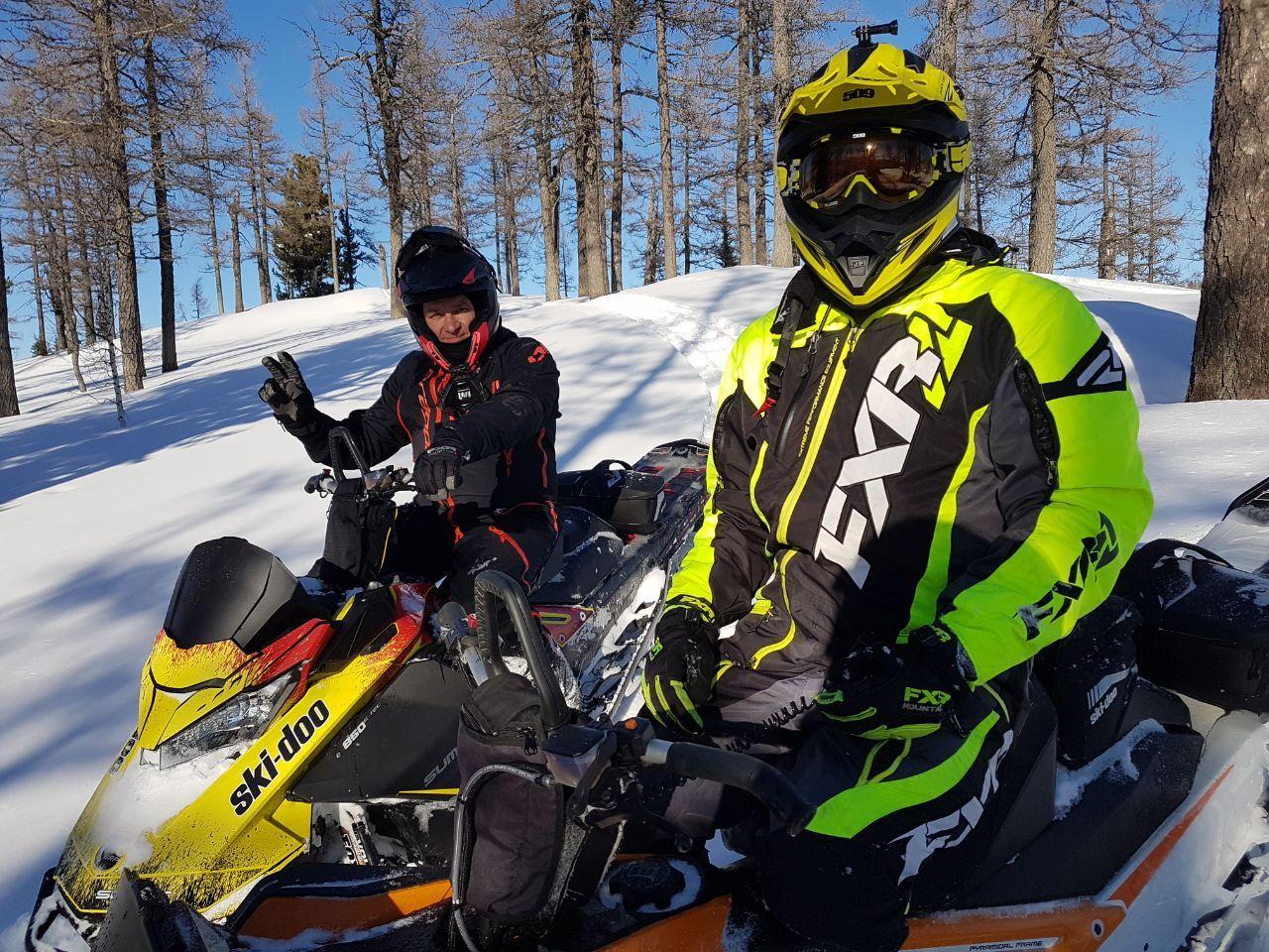 Обучение в школе горного снегохода СнегоDrive